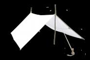 Lagerplane mit Metallring verschiedene Größen